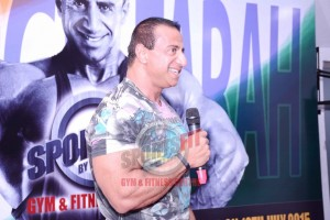 George Farah -Sportsfit  Seminar India Tour 2015
